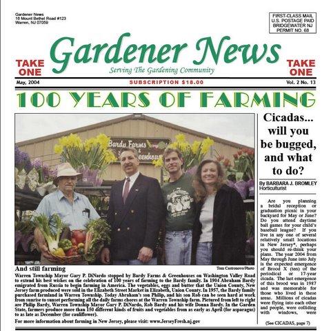 Bardy Farms in Gardener News