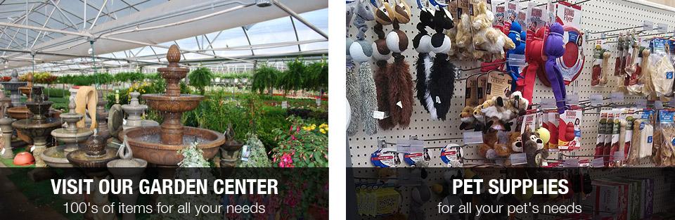 Garden Center and Pet Supplies