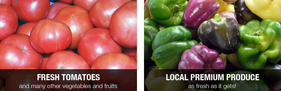 Fresh local premium produce