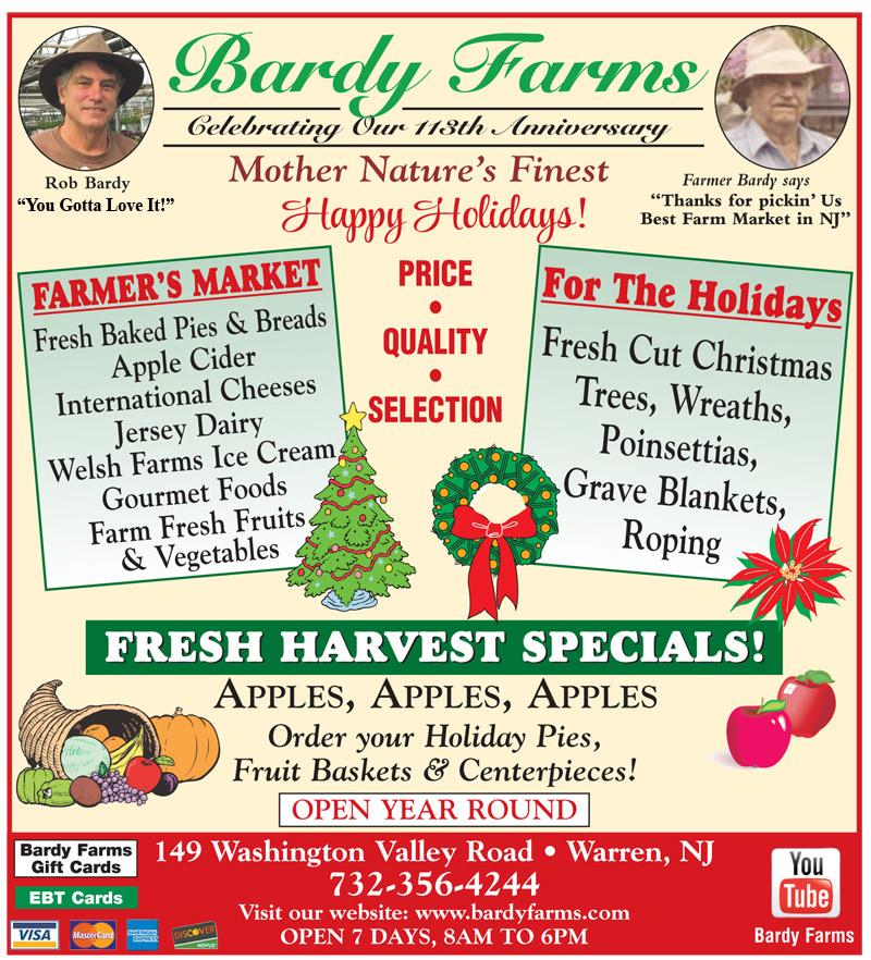 Bardy Farms Specials Fall 2017