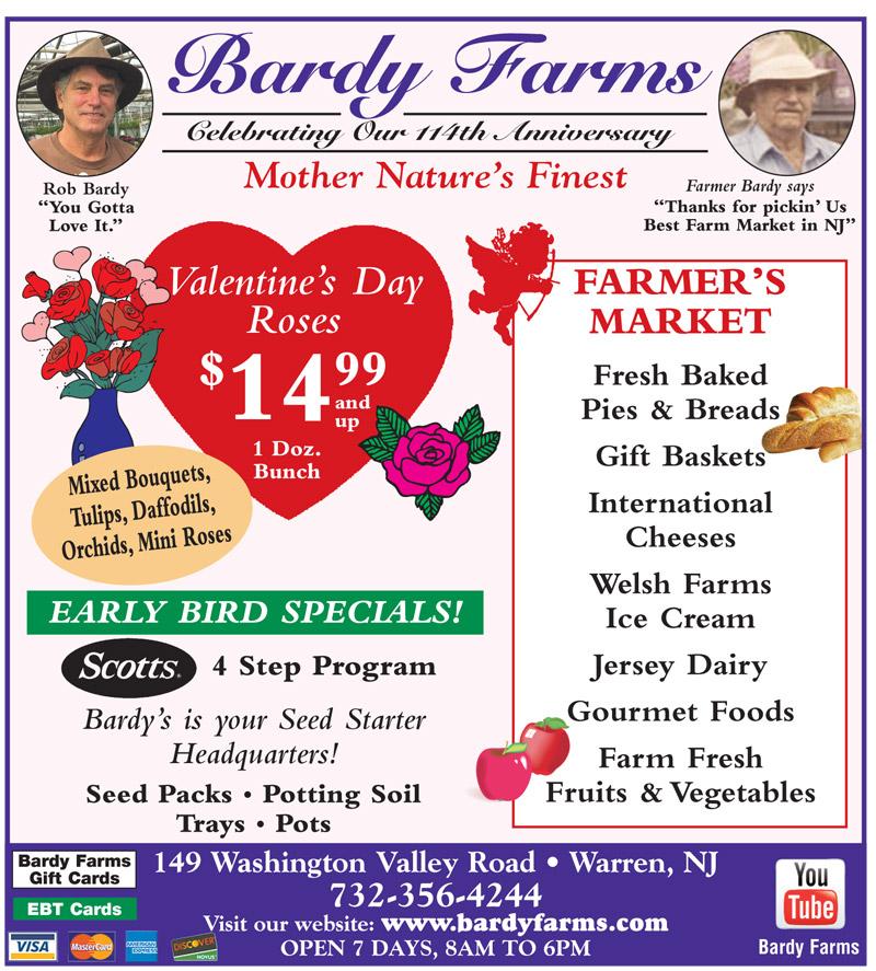 Bardy Farms Specials Jan Feb 2018