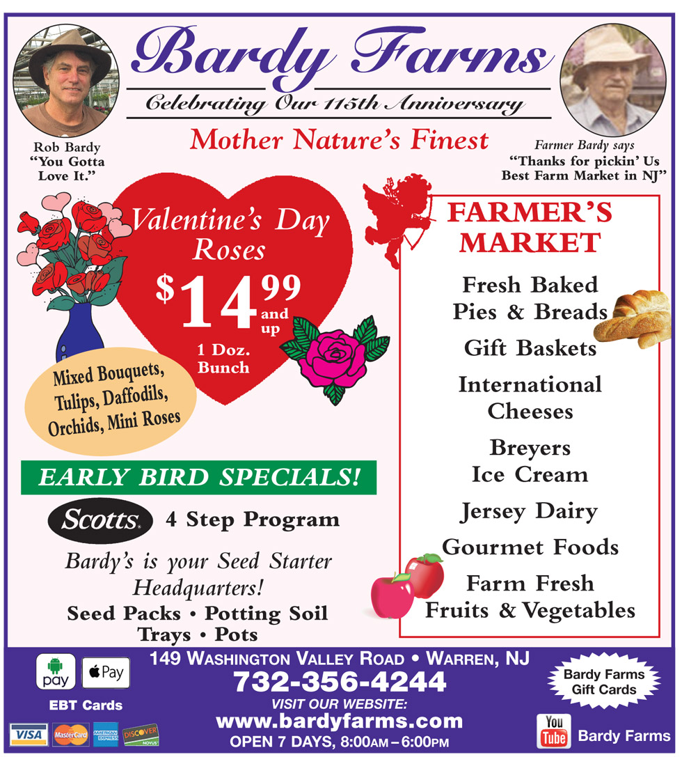 Bardy Farms Specials Feb 2019